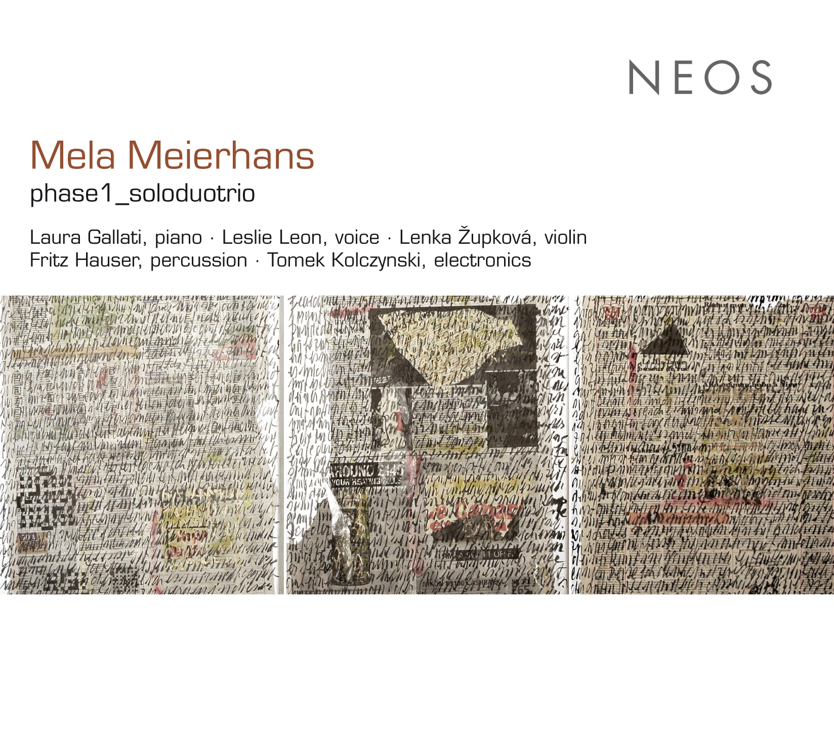 Mela Meierhans CD Cover